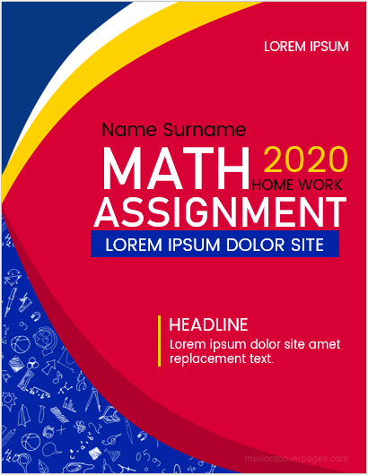 Mathematics-assignment-cover-page-1