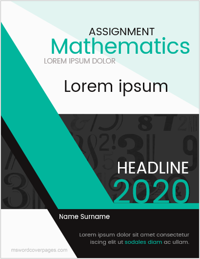 Mathematics-assignment-cover-page-3